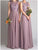 Chic Chiffon Bridesmaid Dresses Cheap Lace Long Bridesmaid Dresses # VB2345