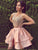 Two Piece Lace Homecoming Dress Party Cheap Homecoming Dress #VB2348