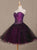 Sweetheart A Line Homecoming Dress Tulle Cheap Homecoming Dress #VB2359