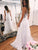Vintage Ivory Wedding Dress V Neck Cheap Wedding Dress # VB2377
