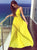 2018 Yellow Prom Dress Chiffon Cheap Long Prom Dress #VB2379