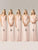 2018 Pink Chiffon Bridesmaid Dresses Cheap Long Bridesmaid Dresses #VB2384 - DemiDress.com