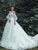 Vintage Ivory Wedding Dress Cheap Tulle Wedding Dress # VB2387