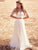 Two Piece Cheap Wedding Dress Lace Beach Wedding Dress # VB2409