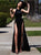 Black Prom Dress Chiffon Cheap Long Prom Dress #VB2417