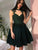 Chic Green Homecoming Dress Lace Party Homecoming Dress #VB2450