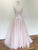 Chic Pink Prom Dress Lace Cheap Long Prom Dress #VB2458