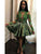 Green Homecoming Dress Lace Long Sleeve Homecoming Dress #VB2484