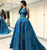 Chic Vintage Prom Dress Lace Ball Gown Prom Dress # VB2485