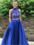 Chic Two Piece Prom Dress Cheap Lace Prom Dress #VB2500