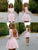 Pink Lace Homecoming Dress Long Sleeve Cheap Homecoming Dress #VB2516