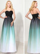 A-line Sweetheart Floor-length Sleeveless Chiffon Prom Dress/Evening Dress #VB251