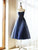 2019 Cheap Homecoming Dress Party Dark Navy Homecoming Dress #VB2548