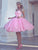 Pink Party Homecoming Dress Princess Cheap Homecoming Dress #VB2573