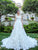 Chic White Wedding Dress Vintage Cheap Lace Wedding Dress # VB2590