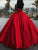 Ball Gown Red Prom Dress Sweetheart Simple Long Cheap Prom Dress # VB2672