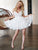 Ivory Lace Homecoming Dress Cheap Party Graduation Homecoming Dress #VB2685