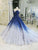 Ball Gown Vintage Prom Dress Blue African Prom Dress # VB2688