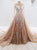 Chic Mermaid Vintage Prom Dress African Long Sleeve Prom Dress # VB2697
