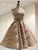 Vintage Lace Homecoming Dress A Line Party Cheap Homecoming Dress #VB2702