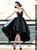 Vintage Black Homecoming Dress African Party Cheap Homecoming Dress #VB2720