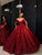 Chic Ball Gown Prom Dress Vintage Cheap Off The Shoulder Prom Dress # VB2754
