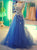 Chic Lace Prom Dress Tulle Cheap Beautiful African Prom Dress # VB2767