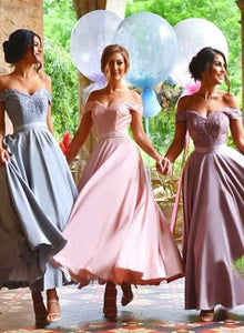 Off The Shoulder Pink Bridesmaid Dresses Cheap African Bridesmaid Dresses # VB2787