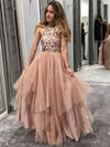 Chic Pink Prom Dress African Cheap Beautiful Long Prom Dress # VB2792