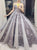 Ball Gown Vintage Prom Dress African Silver Lace Beautiful Prom Dress # VB2795