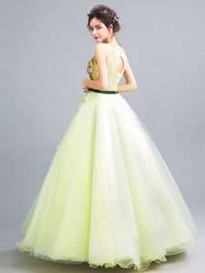 Chic Ball Gown Prom Dress Vintage Cheap African Long Prom Dress # VB2802