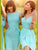 Chiffon Green Bridesmaid Dresses Cheap One Shoulder Bridesmaid Dresses # VB2822