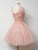 Chic Pink Homecoming Dress Party Cheap Ball Gown Homecoming Dress #VB2830