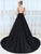 Chic Black Prom Dress Cheap Satin Long Prom Dress # VB2850