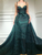 Green Mermaid Beautiful Prom Dress Cheap African Long Prom Dress # VB2916