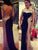 Black Sheath Prom Dress African Chiffon Beading Long Prom Dress # VB3056