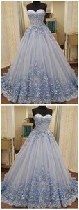 Vintage Ball Gown Prom Dress African Lace Long Prom Dress # VB3059