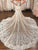 Mermaid Ivory Wedding Dress Lace Vintage Sweetheart Wedding Dress # VB3097