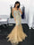 Chic Plus Size Prom Dress Beading Mermaid Vintage Long Prom Dress # VB3142