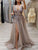V Neck Tulle Prom Dress Cheap Sexy A Line Plus Size Prom Dress # VB3578