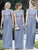 Chiffon Bridesmaid Dress Simple Modest Lace Cheap Long Bridesmaid Dress # VB366