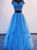 Two Piece Prom Dress Vintage Off The Shoulder Prom Dress # VB4252