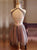 Two Piece A Line Homecoming Dress Tulle Cheap Homecoming Dress # VB4254