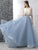 Two Piece A Line Prom Dress Vintage Tulle Cheap Prom Dress # VB4265