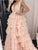 Pink Plus Size Prom Dress Cheap Long A Line Prom Dress # VB4275