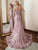 Mermaid Pink Prom Dress Sexy Lace African Straps Prom Dress # VB4302