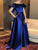 Chic Off The Shoulder Prom Dress Cheap Long Beautiful Prom Dress # VB4311