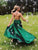 Chic Green Prom Dress Sexy Long Cheap African Prom Dress # VB4507