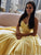 Chic Yellow Prom Dress Sweetheart African Cheap Prom Dress # VB4551