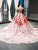 Ball Gown Off The Shoulder Prom Dress Pink Plus Size Prom Dress # VB4601